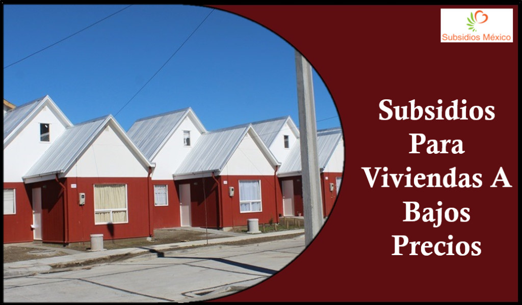 Subsidios Para Viviendas A Bajos Precios